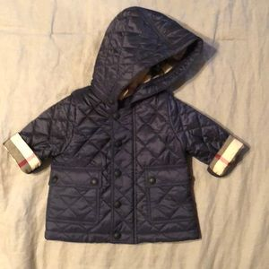 Other - BURBERRY Quilted Baby Jacket